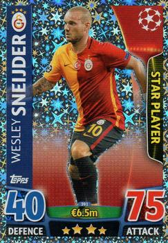 2015-16 Topps UEFA Champions League Match Attax English #391 Wesley Sneijder Front