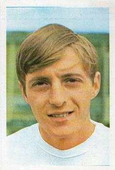 1970 FKS Publishers Mexico 70 World Cup Soccer Stars #8 Allan Clarke Front