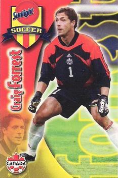 2001 Sunlight Soccer Canada #NNO Craig Forrest Front