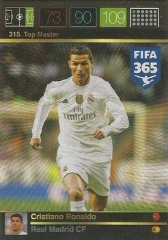 389 Panini Fifa 365 2016-Cristiano Ronaldo Real Madrid CF no