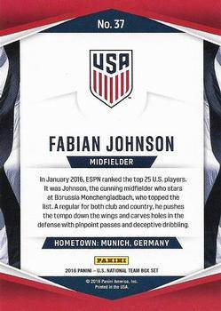 #264 Fabian Johnson Mönchengladbach Match Attax 2016//17 Bundesliga