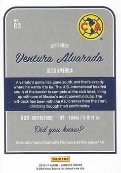 2016-17 Donruss - Purple #63 Ventura Alvarado Back