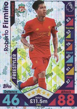 Match Attax 2017//18 Premier League #le3g Roberto Firmino-Gold Limited Editio
