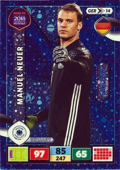 Sticker 97 Manuel Neuer Road to WM 2018 Russia