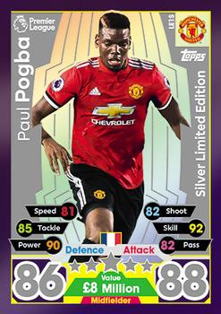 Star Player Match Attax 2017//18 Premier League #210 Paul Pogba