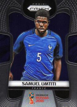 Panini Adrenalyn XL WM 2018 #140 samuel umtiti-Francia