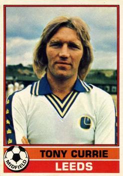 RED BACK 1977 TOPPS-FOOTBALL -#208- LEEDS PETER LORIMER