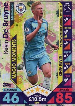 Match Attax 2016//17 Premier League Magic Moments MM4 Fernando Llorente