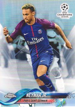 2017-18 Topps Chrome UEFA Champions League Soccer #50 Neymar Jr.