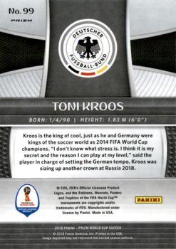 #162 toni kroos-Alemania Panini Adrenalyn XL WM 2018