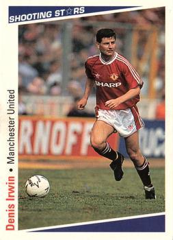 Manchester United Panini # 135 Denis Irwin Football 93
