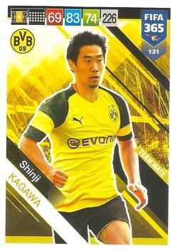 2018-19 Donruss Soccer Out Of This World #OW-5 Shinji Kagawa Borussia Dortmund