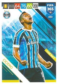 2018-19 Panini FIFA 365 Adrenalyn XL #293 Cícero Front