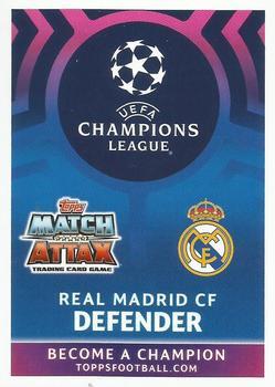 2018-19 Topps Chrome UEFA Champions League Base  #75  SERGIO RAMOS