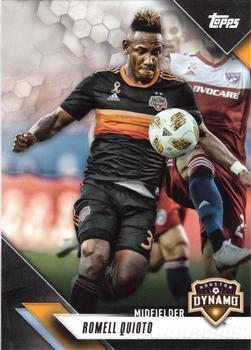 2019 Topps MLS #7 Romell Quioto Front
