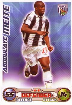 2008-09 Topps Premier League Match Attax #NNO Abdoulaye Meite Front