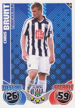 Match ATTAX 2012//13 premier League #318 Chris Brunt-west Bromwich