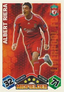 2009-10 Topps Premier League Match Attax #NNO Albert Riera Front
