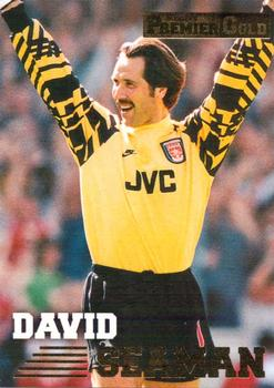 1996-97 Merlin's Premier Gold #6 David Seaman Front