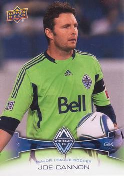 2012 Upper Deck MLS #161 Joe Cannon Front