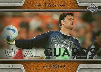 2007 Upper Deck MLS #48 Pat Onstad Soccer Card