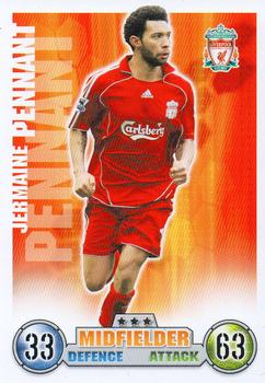 2007-08 Topps Premier League Match Attax #NNO Jermaine Pennant Front