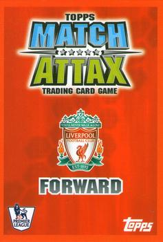 2007-08 Topps Premier League Match Attax #NNO Fernando Torres Back