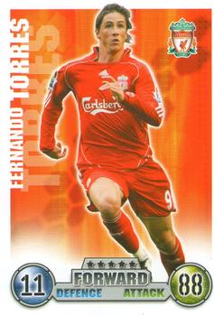 2007-08 Topps Premier League Match Attax #NNO Fernando Torres Front