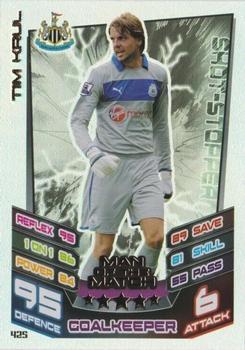 Match ATTAX 2013//14 premier League #199 tim Krul-Newcastle united