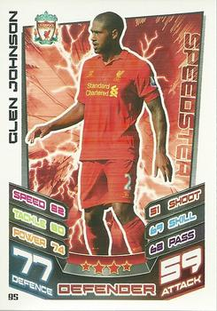 2012-13 Topps Premier League Match Attax #95 Glen Johnson Front