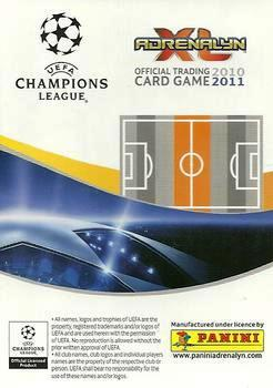 2010-11 Panini UEFA Champions League Adrenalyn XL #317 Aleksandr Sheshukov Back