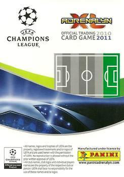 2010-11 Panini UEFA Champions League Adrenalyn XL #320 Ari Back