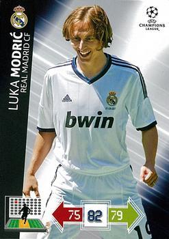 Adrenalyn XL Champions League 13//14 luka modric-Real Madrid CF