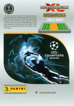 2012-13 Panini UEFA Champions League Adrenalyn XL Update Edition #122 Ever Banega Back