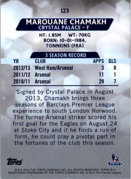 Topps Premier Gold 2013 Crystal Palace Base # 123 Marouane Chamakh