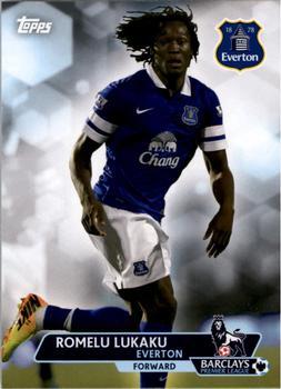 Romelu Lukaku Everton Topps Premier Gold 2014 New Signings