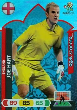 2012 Panini Adrenalyn XL Euro - Goal Stoppers #NNO Joe Hart Front