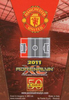 Panini 146 Patrice Evra Manchester United UEFA CL 2010//11