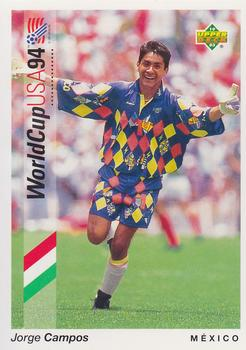 280eab13317 1993 Upper Deck World Cup Preview English German  17 Jorge Campos