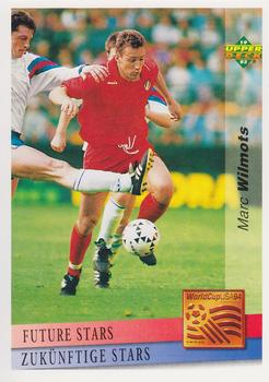1993 Upper Deck World Cup Preview English/German #125 Marc Wilmots Front