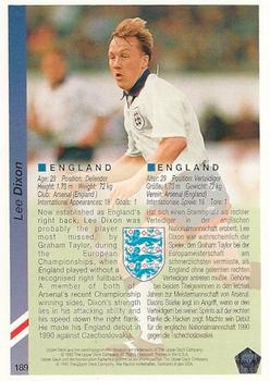1993 Upper Deck World Cup Preview English/German #189 Lee Dixon Back