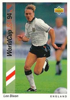1993 Upper Deck World Cup Preview English/German #189 Lee Dixon Front