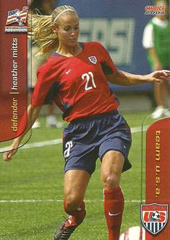 2004 Choice US Women's National Soccer Team #10 Heather Mitts Front
