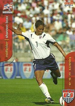 2004 Choice US Women's National Soccer Team #1 Shannon Boxx Front