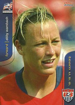 2004 Choice US Women's National Soccer Team #32 Abby Wambach Front