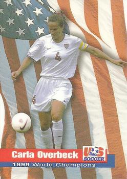 1999 Roox US Women's National Team #910237T Carla Overbeck Front