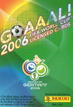 2006 Panini Germany World Cup #79 Mauro German Camoranesi Back