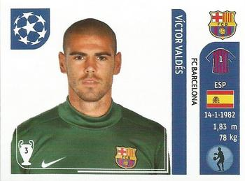 Panini Euro 2012 288 Víctor Valdés Spain No