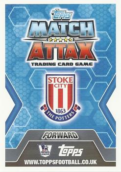 #270 peter Crouch-stoke City Match ATTAX 2013//14 premier League