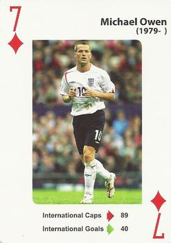 2012 England's Greatest Football Players #7ofD Michael Owen Front